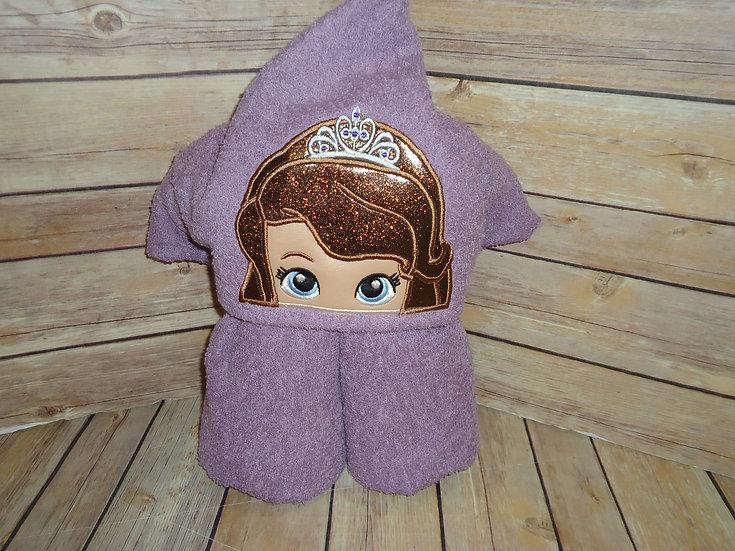 Sofia Inspired Hooded Towel