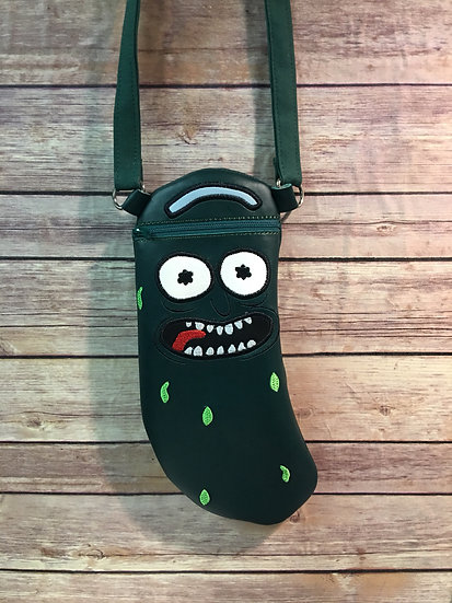 Pickle Rick Crossbody Bag - Made to Order