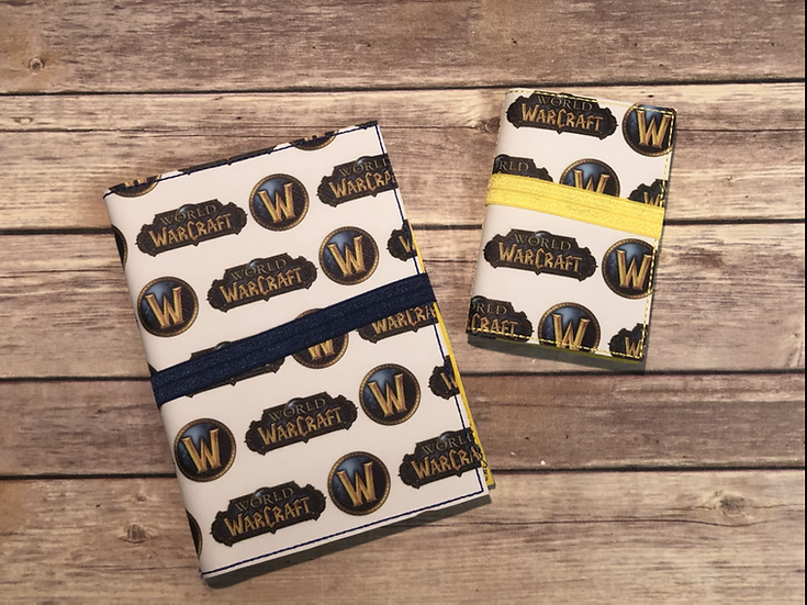 World of Warcraft Notebook Keeper - Ready to Ship