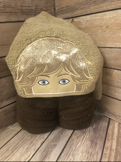 Luke Skywalker Child Size Hooded Towel - Ready to Ship