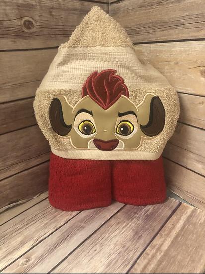 Kion Child Size Hooded Towel - Ready to Ship
