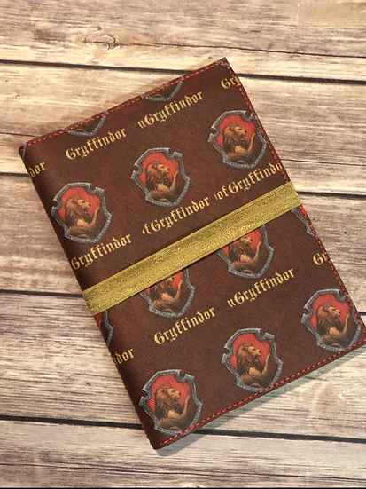 Lion House Notebook Keeper - Ready to Ship