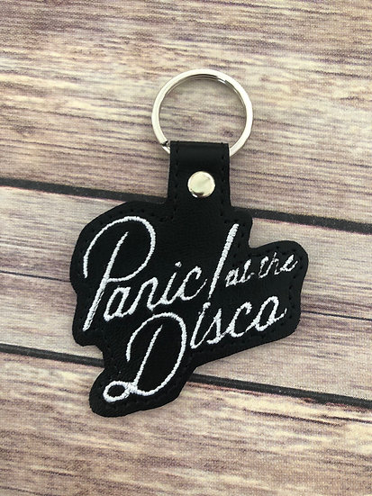 Panic! at the Disco Embroidered Key Chain