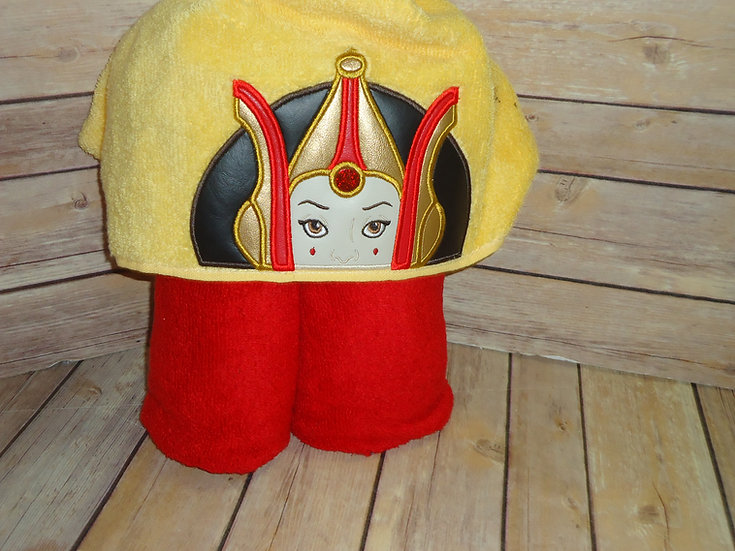 Star Wars Queen Amidala Hooded Towel