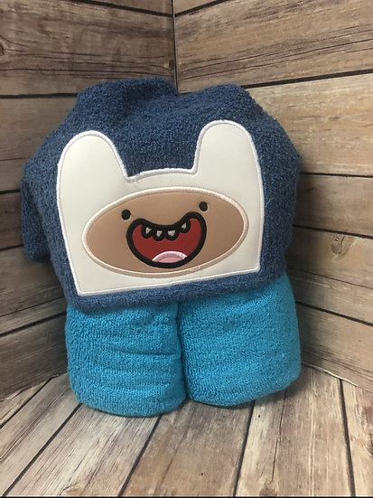 Finn Child Size Hooded Towel - Ready to Ship