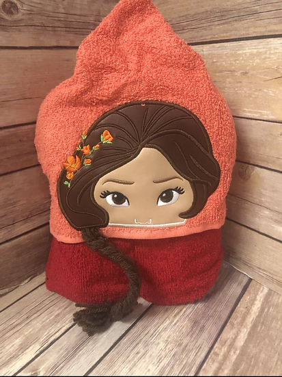 Elena 3D Child Size Hooded Towel - Ready to Ship