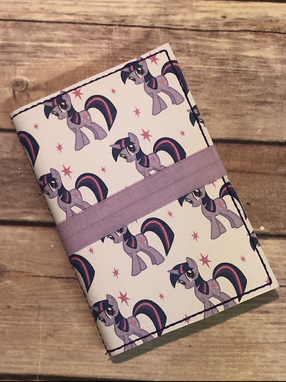 Twilight Sparkle Notebook Keeper - Ready to Ship