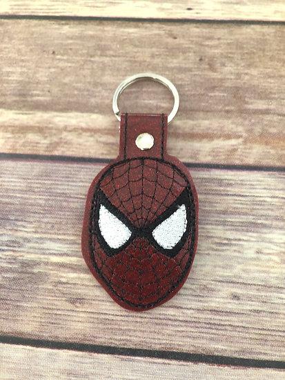Spider-Man Embroidered Key Chain