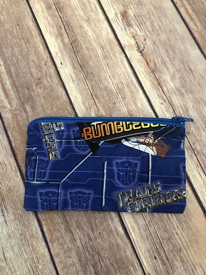 Transformers Zipper Pouch - Ready to Ship