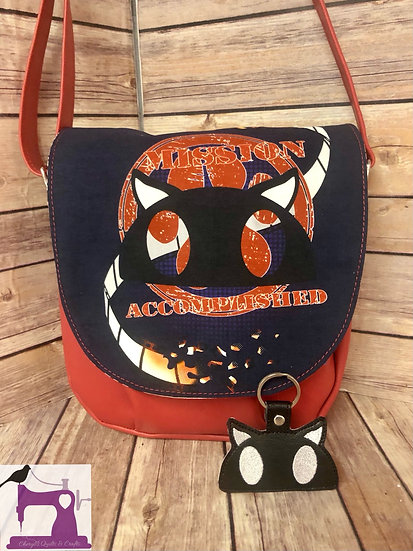 Persona 5 Cats Mask Crossbody Bag -Ready to Ship