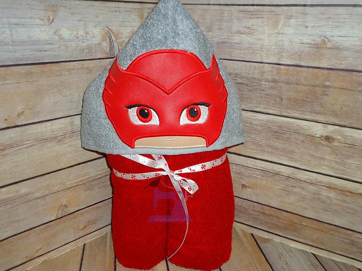 PJ Masks Owlette Hooded Towel