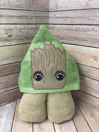 Tree Hero Hooded Towel