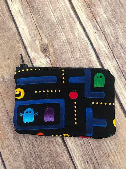 Pac-Man Zipper Pouch - Ready to Ship
