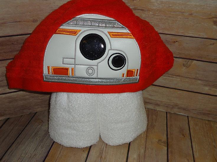 Star Wars BB8 Hooded Towel