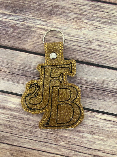 Spell Academy FB  Embroidered Key Chain