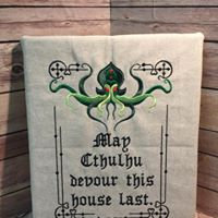 May Cthulhu Devour This House Last Wall Art - Made To Order