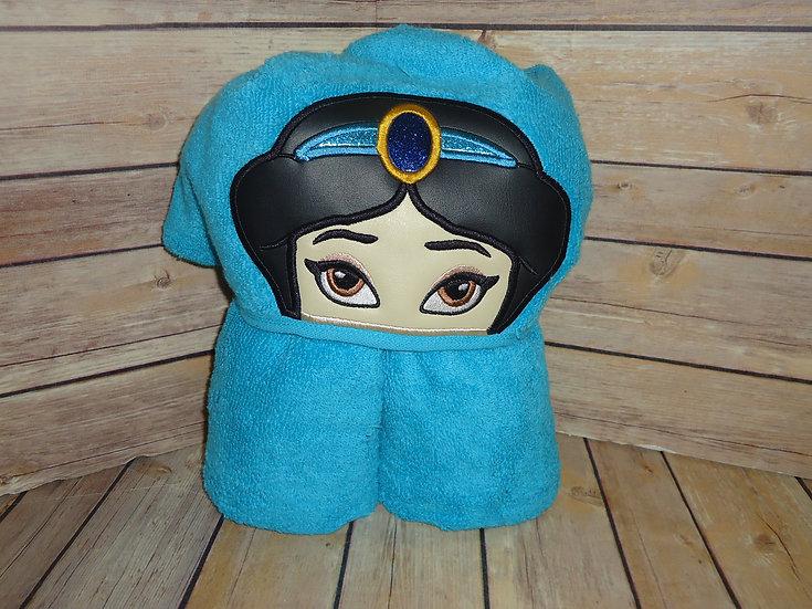 Jasmine Inspired Hooded Towel
