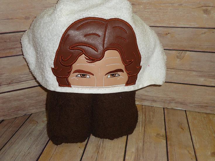 Star Wars Han Solo Hooded Towel