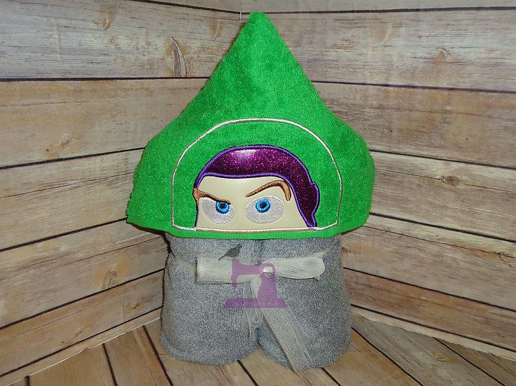 Buzz Lightyear Hooded Towel