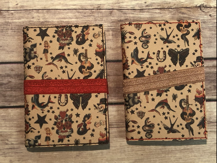Vintage Tattoos Notebook Keeper - Ready to Ship