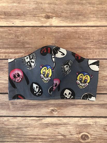 Umbrella Academy Symbols Themed Adult Washable Fabric Face Mask - Elastic or Tie
