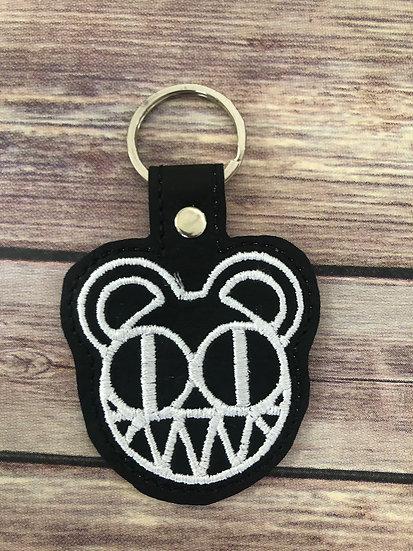 Radiohead Embroidered Key Chain