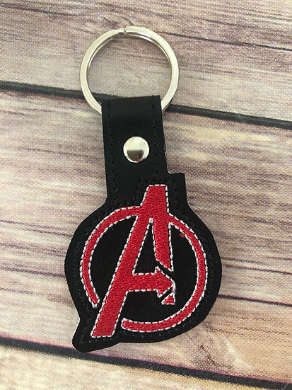 Avengers Embroidered Key Chain