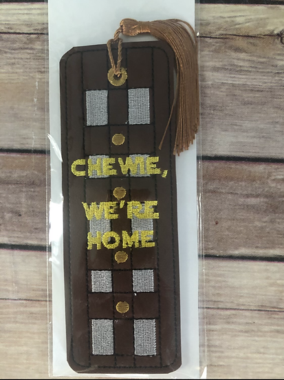 Chewie, We're Home Bookmark - Ready to Ship