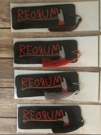 Redrum Vinyl Bookmark - Ready
