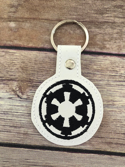 S W Empire Embroidered Key Chain