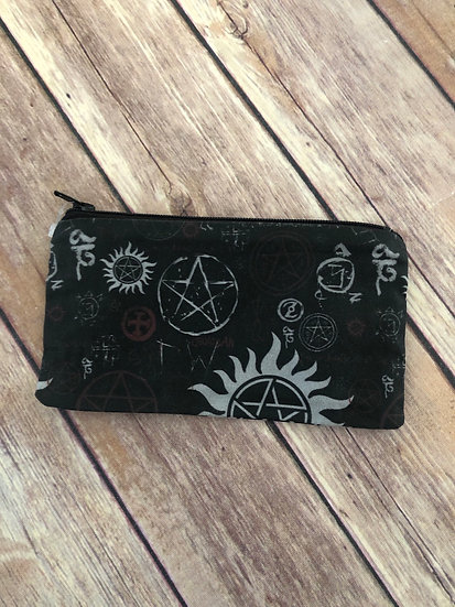 Supernatural Zipper Pouch - Ready to Ship