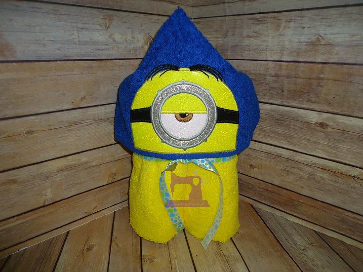 Minion Stuart Hooded Towel