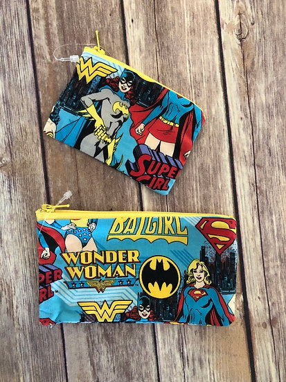 Super Heriones Zipper Pouch - Ready to Ship