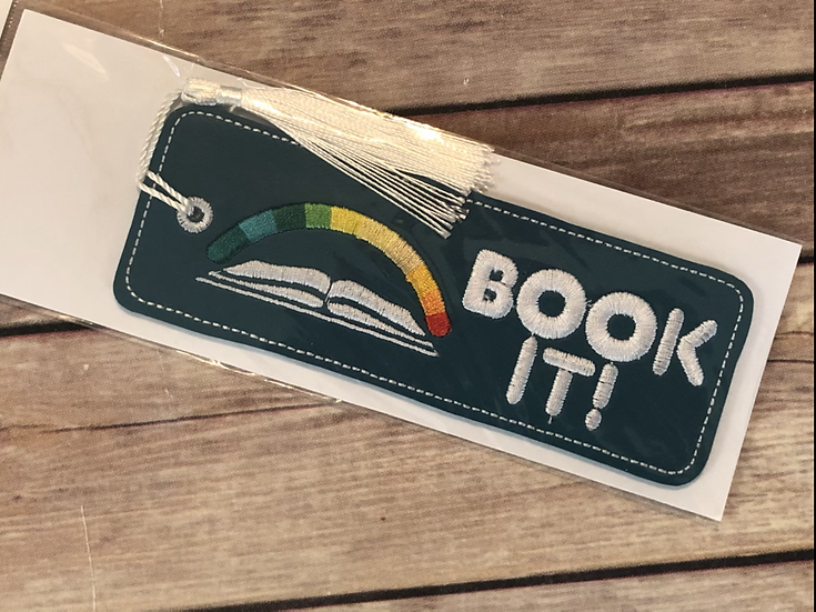 Book It Vinyl Bookmark - Ready to Ship