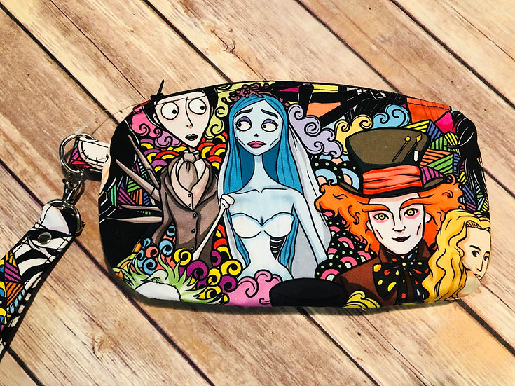 Burton Characters themed Wristlet - Made to Order