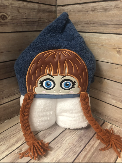 Annabelle 3D Child Size Hooded Towel - Ready to Ship