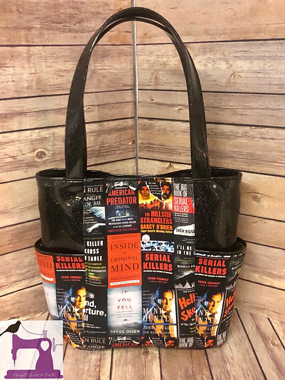 Serial Killers themed Tote Bag - Ready to Ship