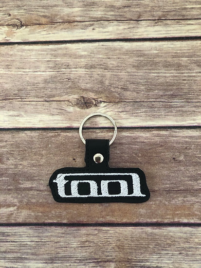 Tool Embroidered Key Chain