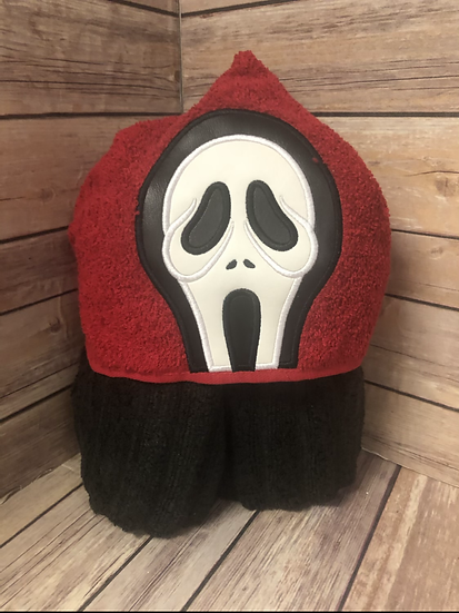 Ghost Killer Child Size Hooded Towel - Ready to Ship