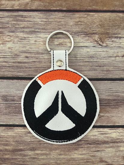 Overwatch Embroidered Key Chain