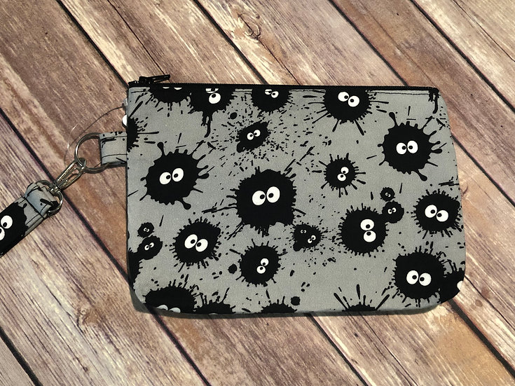 Soot Sprites Themed Wristlet - Ready to Ship