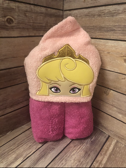 Aurora Child Size Hooded Towel - Ready to Ship
