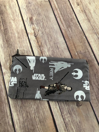 Star Wars Rey Zipper Pouch - Ready to Ship