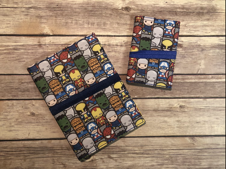 Marvel Characters Notebook Keeper - Ready to Ship