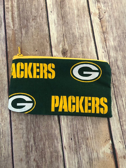 Packers Zipper Pouch - Ready to Ship