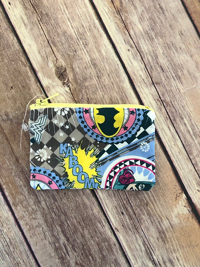 Super Herione Symbols Zipper Pouch - Ready to Ship