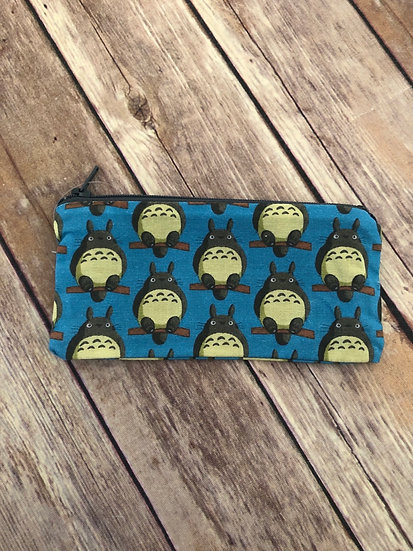 Totoro Zipper Pouch - Ready to Ship