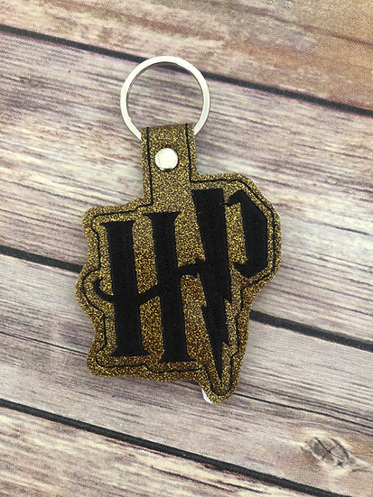 Spell Academy HP  Embroidered Key Chain