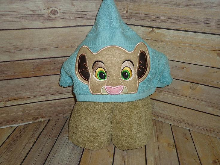 Nala Inspired Hooded Towel