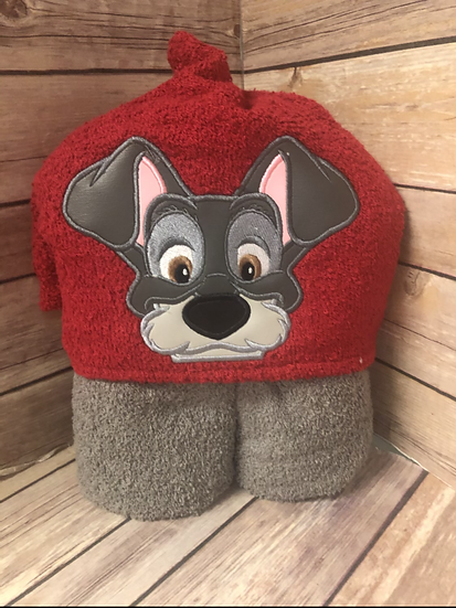 Tramp Child Size Hooded Towel - Ready to Ship